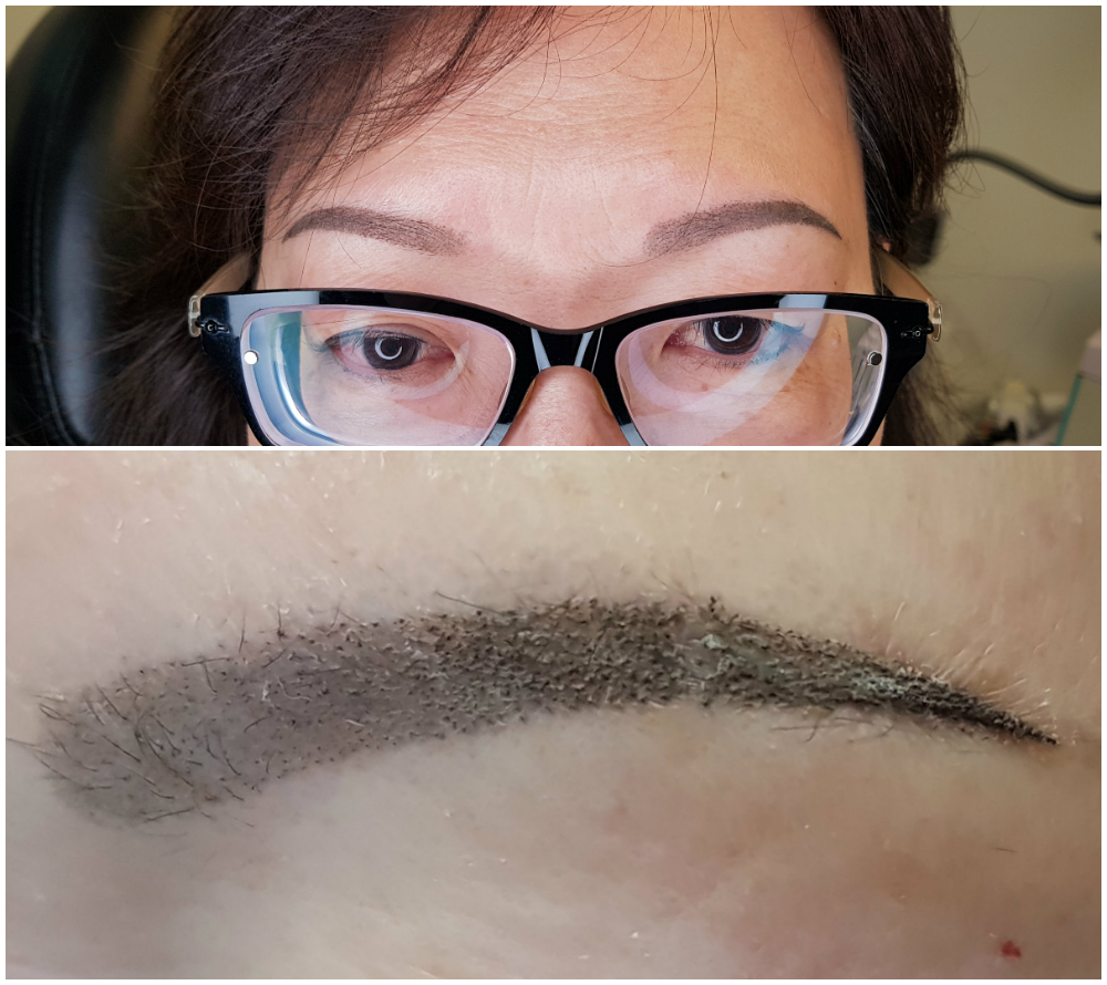 Healing Process – Semi Permanent Makeup by Dasha