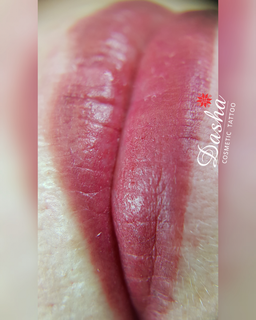 Healed Lips Semi Permanent Makeup